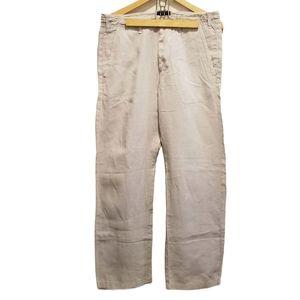 Trussardi Jeans Linen Men's Pants
